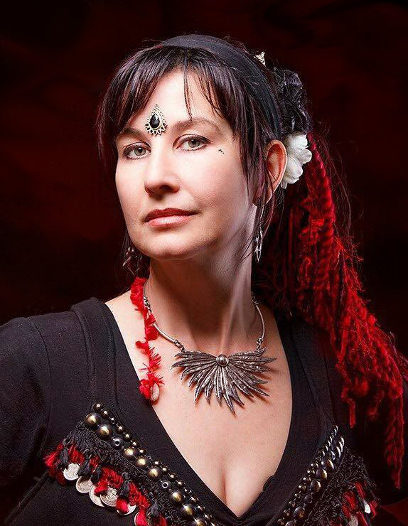 Belly dance instructor Katrina Keane